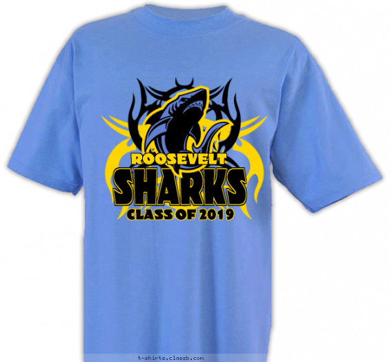 classof t-shirt design with 2 ink colors - #SP2938