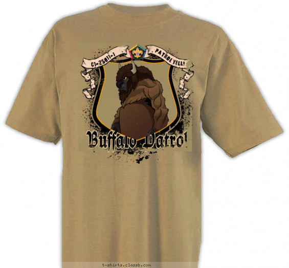 woodbadge t-shirt design with 6 ink colors - #SP3720