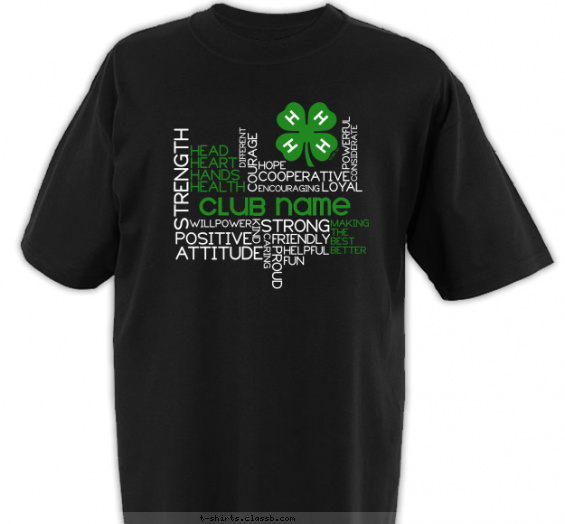 Most Popular 4-H Club T-Shirt of 2019