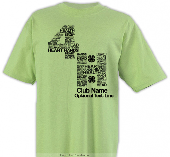 Best One Color 4-H Club T-Shirt of 2019