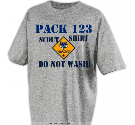 Best Two Color Cub Scout Pack T-Shirt of 2019