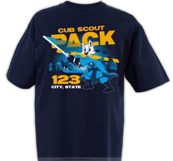 Best Design Cub Scout Pack T-Shirt of 2019