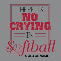 SP5921 No Crying in Softball