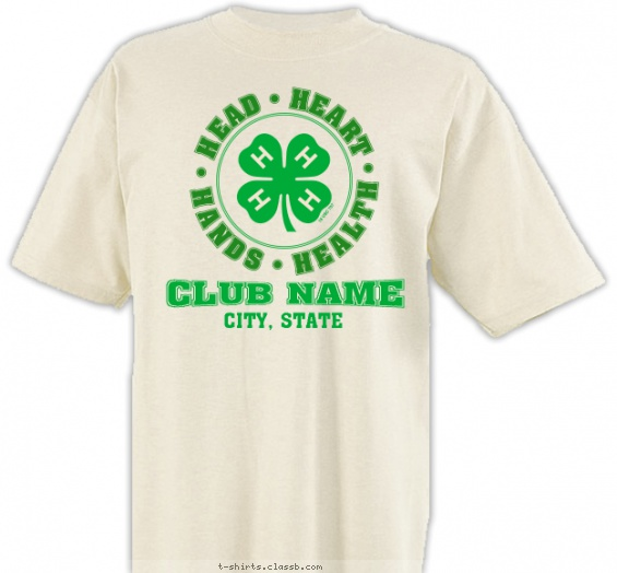 4-H Motto Shirt T-shirt Design