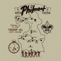 SP2556 SP2556 - Philmont Custom Map