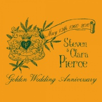 SP2600 Golden Wedding Anniversary Shirt