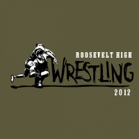SP323 Old School Wrestling Design