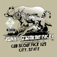 SP2562 Running Mascots Shirt