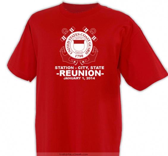 us coast guard reunion shirt t shirt design