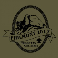 SP608 Philmont Oval