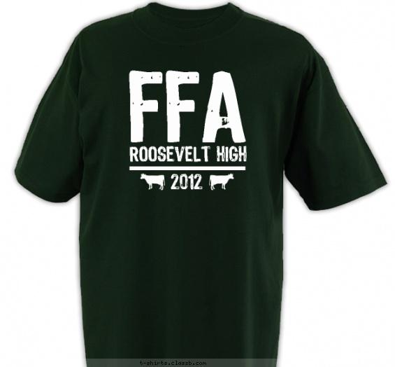 School Clubs Design » SP1711 FFA Vintage Shirt