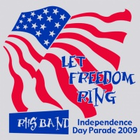 SP2053 Let Freedom Ring Band Shirt