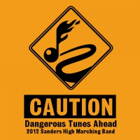 SP2065 Caution Dangerous Tunes Ahead Shirt