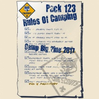 SP2087 Camping Rules Shirt