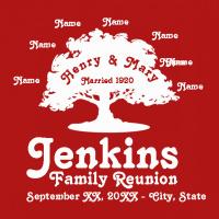 family reunion design sp421 retro family tree