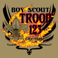 SP2149 Troop Forge in Fire Shirt