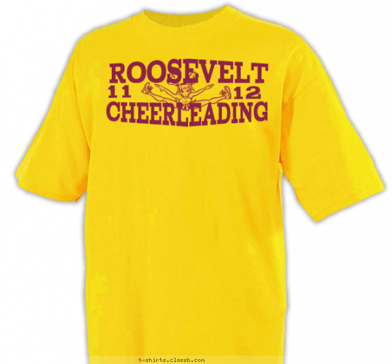 Cheerleading design sp1274 lets cheer Cheerleading t shirt designs