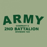 SP2198 Army Simple Shirt
