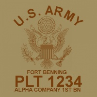 SP2199 Army US Seal Shirt