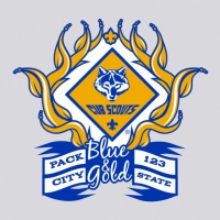SP2159 Blue and Gold Pack Shirt