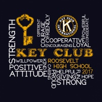 SP3453 Vertical Horizontal Key Club