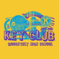 SP3456 Key Club Neon Stamp