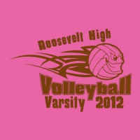 SP2407 Tribal Volleyball Shirt