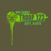 SP3561 Spray Paint Drips Troop