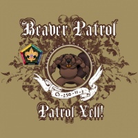 SP3725 Wood Badge Filigree Beaver