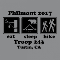 SP3816 Philmont Eat Sleep Hike