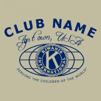 SP2283 Kiwanis Basic Logo Shirt
