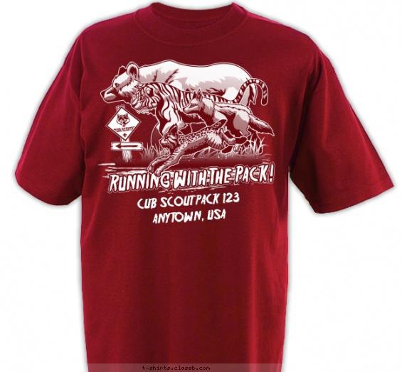 High School T Shirt Design Ideas forks high school alumni tee Running With The Pack T Shirt Design