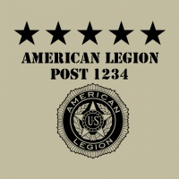 SP4445 American Legion Flag Pole
