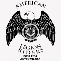 SP4449 American Legion Riders with Eagle