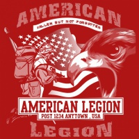 SP4473 American Legion Badge