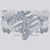 SP4738 American Legion Riders Feathers
