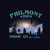 SP4748 Hiking, Tooth of Time, Philmont