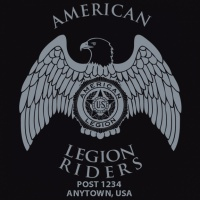 SP5340 American Legion Motorcycle Motor