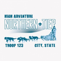 SP5353 Northern Tier Sled Dogs