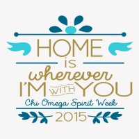 SP5795 Chi Omega Home With You