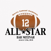 SP5883 Football Matchup Bar Mitzvah