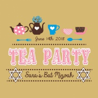 SP5889 High Tea Bat Mitzvah